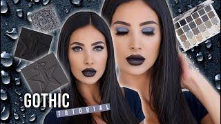 Jeffree Star Cremated Palette Tutorial  - Wearable Goth Eyeshadow Look