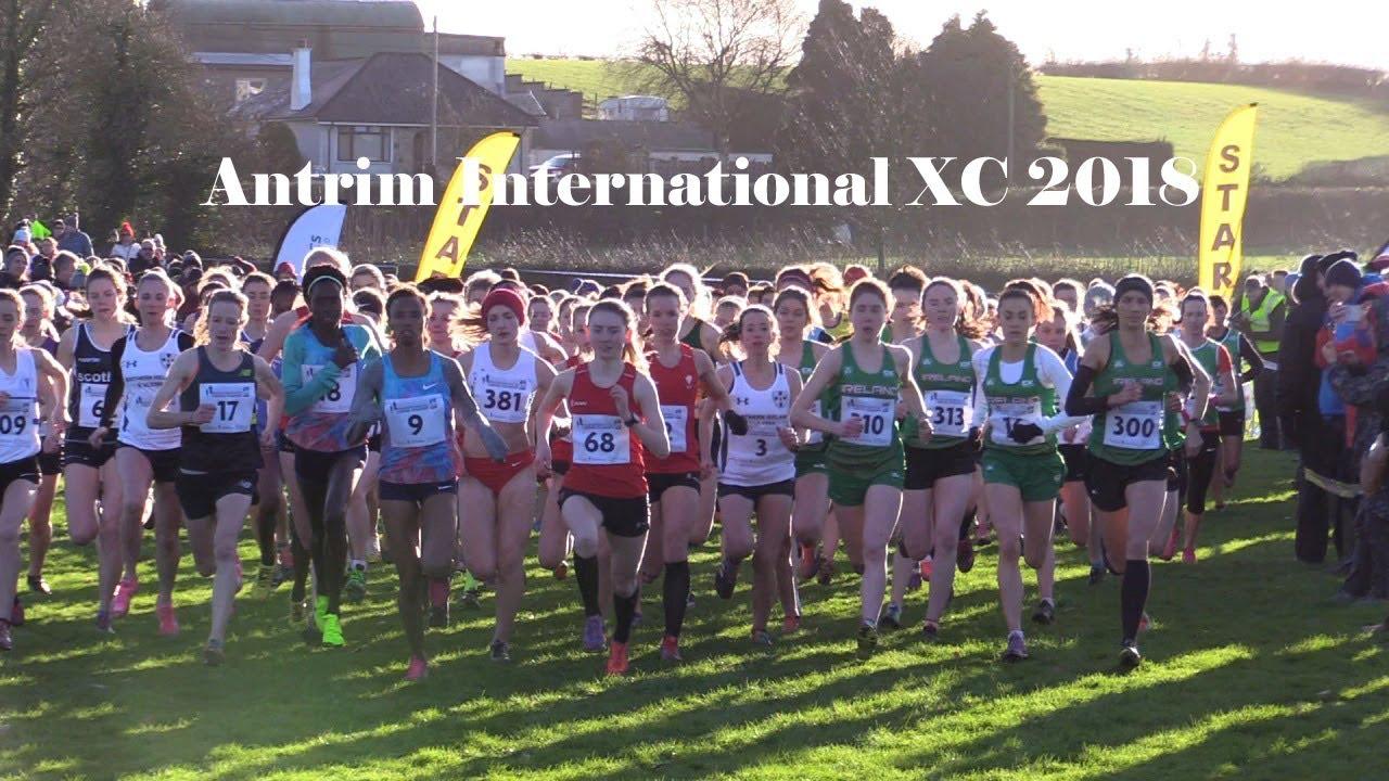 Women's | Antrim International Cross Country | 2018