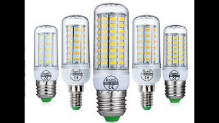E27 светодиодные лампы E14 светодиодные лампы SMD5730 220 В лампы кукурузы 24 36 48 56 69 72leds(, 2017-09-24T14:17:23.000Z)