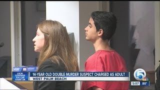 14-year-old charged as adult in killings of Ricky Miner & Andrew Laudano