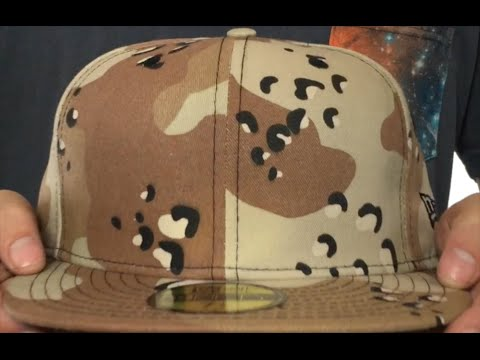 8845c3d9e00 New Era  59FIFTY-BLANK  Desert Storm Fitted Hat - YouTube