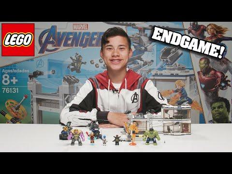 LEGO AVENGERS COMPOUND BATTLE!!! Marvel Avengers ENDGAME Set - Time Lapse Stop Motion