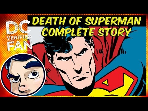 Death of Superman - Complete Story | Comicstorian