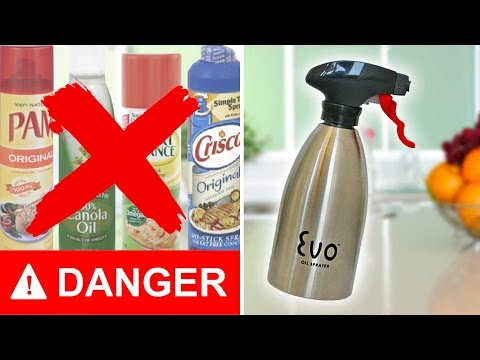 28c6b9313a0a OLIVE OIL and MARINADE Sprayer Bottle - Don't EVER Buy Cooking Spray ...