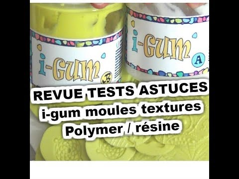 REVUE i-gum RESIN PRO faire des moules facile rapide mais pas que  TESTS  TUTO