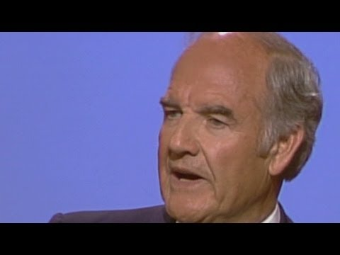 George McGovern at the 1984 DNC