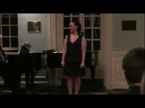 "Rachel sings ""I Won't Mind"" by Jeff Blumenkrantz at her senior recital in 2010."