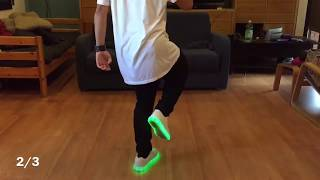 How to Shuffle for Beginer - Cutting Shapes tutorial #2 by Anderson Jovani