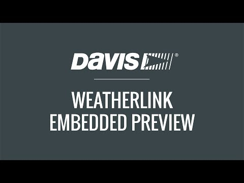 WeatherLink: Embedded Preview