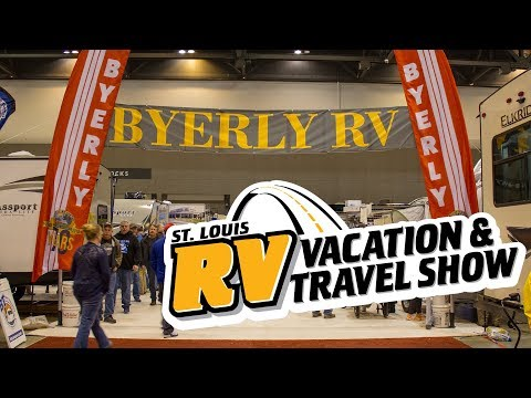 2018 St. Louis RV Vacation and Travel Show - Saturday Timelapse