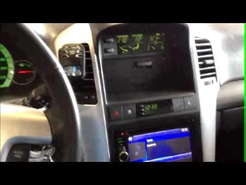 instalaci243n radio chevrolet captiva doble din navegador