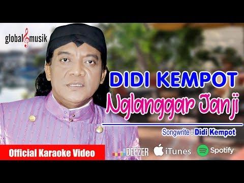 Didi Kempot - Nglanggar Janji (HD) (Official Karaoke Video)