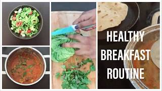 DAILY HEALTHY BREAKFAST ROUTINE | MORNING ROUTINE BREAKFAST IDEAS | BHUVANAS KITCHEN