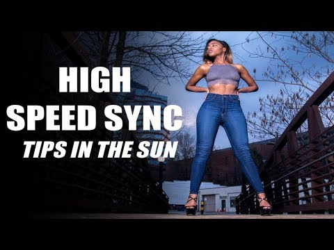 Outdoor Portrait Tips With A SpeedLight! (Including High Speed Sync Tips!)
