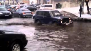 Курск, лужа в центре города!!! 2016(, 2016-02-06T11:29:42.000Z)