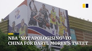 NBA 'not apologising' to China for Daryl Morey's tweet