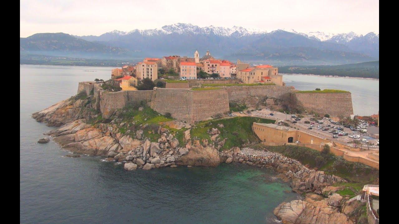 Calvi - Corse - Vue du Ciel Drone Expert - YouTube