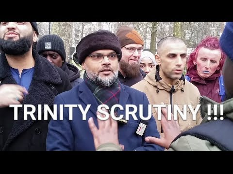 BRO HASHIM SCRUTINISE A CHRISTIAN MAN ABOUT THE TRINITY......SPEAKERS CORNER NEW