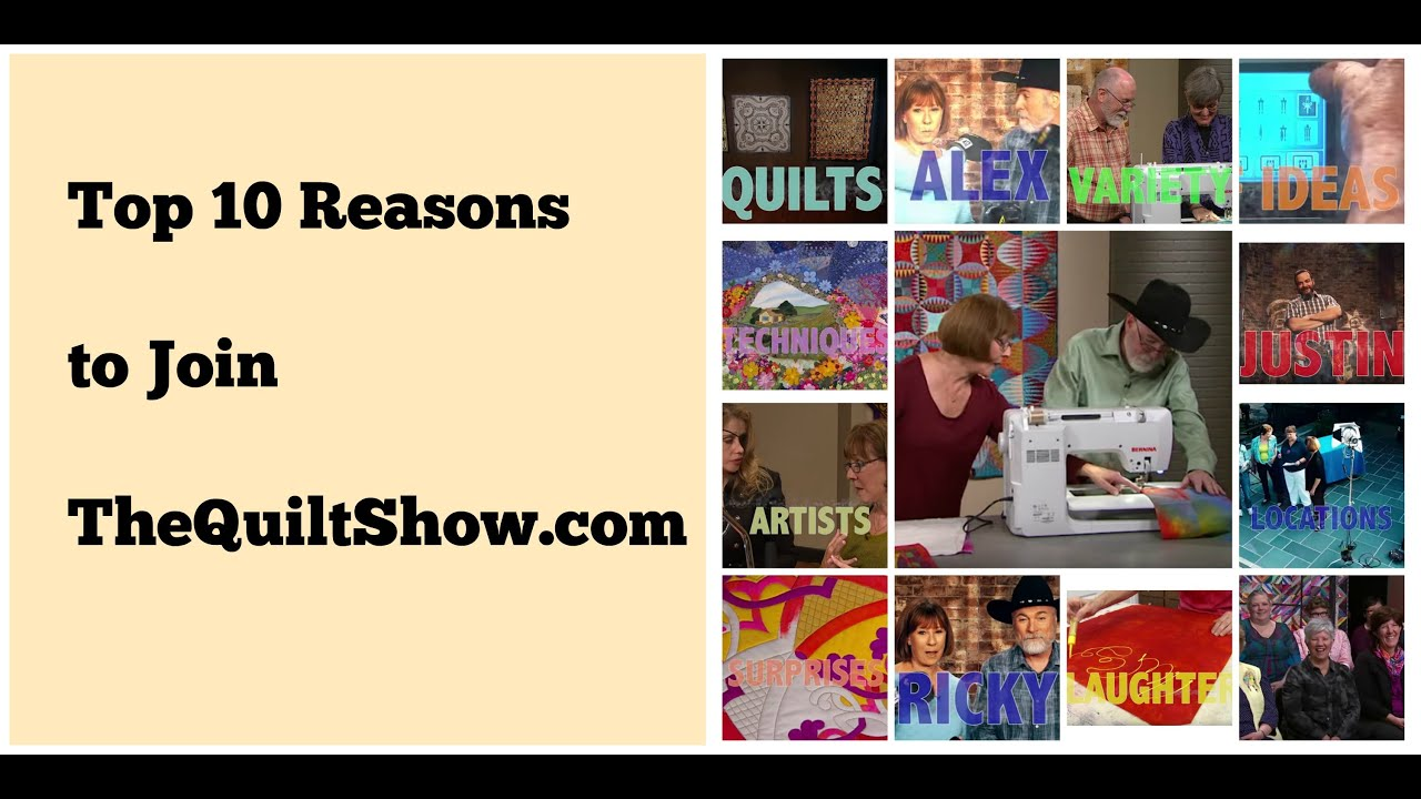 Watch - TheQuiltShow com