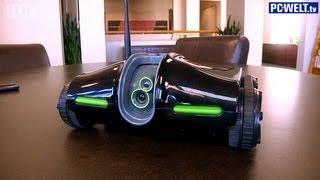 Spionage-Roboter für den Hausgebrauch: Brookstone Rover 2.0 vorgestellt