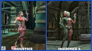 INJUSTICE - HARLEY QUINN Graphic Evolution 2013-2017 | PS4 |