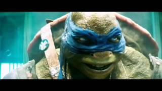 Трейлер черепашек ниндзя с музыкой