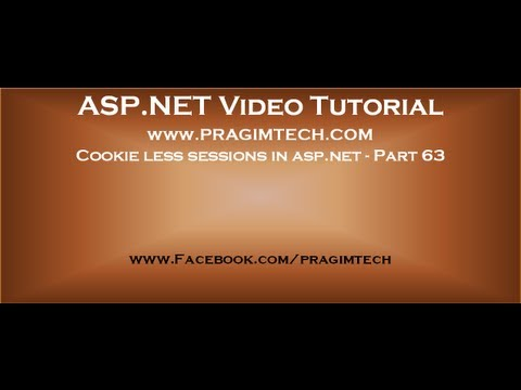 Cookie less sessions in asp.net   Part 63