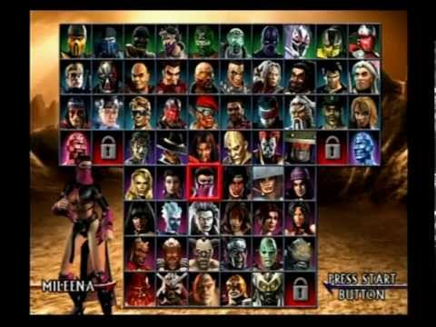 Mortal Kombat Armageddon Mileena 1 2 Youtube