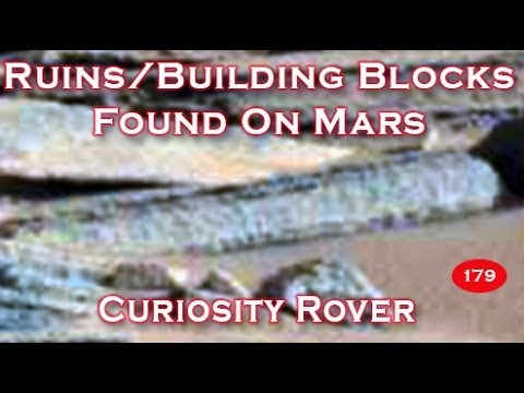 Ruins / Building Blocks Found On Mars By Curiosity Rover