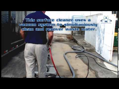 Complete mobile hot water pressure washer & wastewater recovery trailer packages