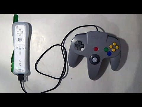 How to mod your N64 controller to Wii (U) remote (Plus)