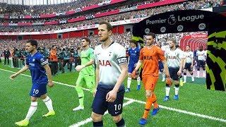 Tottenham vs Chelsea - Premier League 24 November 2018 Gameplay