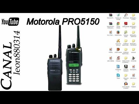 Como Descargar E Instalar Software De Programación De Radio Motorola PRO-5150 Bien Explicado [1080p]