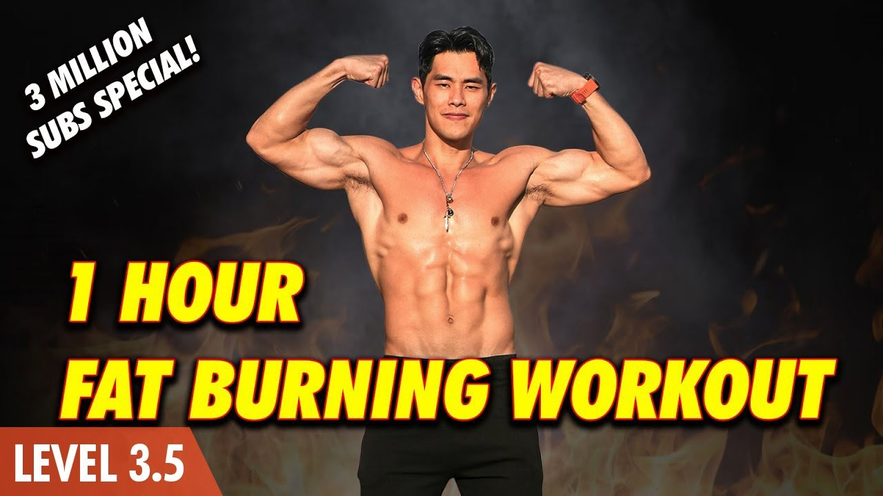 Download 1 Hour Workout | No Gym Fat Burning & Body Strengthening (Level 3-4)