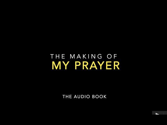 MAKING AN AUDIO BOOK | #MYPRAYER