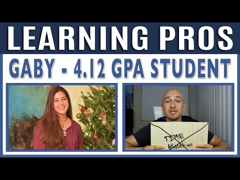 🔥 Learn to Get Amazing Grades in School w/ Gaby | Learning Pros w/ Luis Angel | Student Study Tips