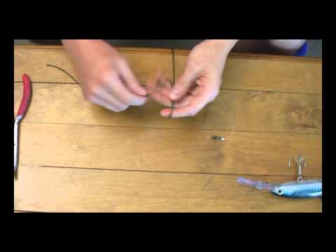 How To Tie Mono Line To Wire