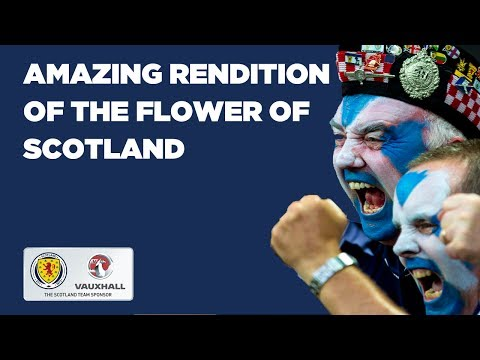 Flower of Scotland // Amazing rendition of the anthem in Cardiff