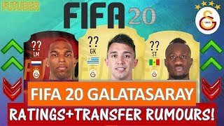 FIFA 20 | GALATASARAY PLAYER RATINGS!! FT. MUSLERA, DIAGNE, BABEL ETC... (TRANSFER RUMOURS INCLUDED)