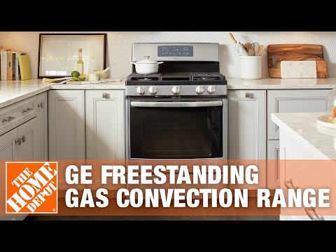 GE Adora 30 in. Self-Cleaning Freestanding Gas Convection Range - The Home Depot