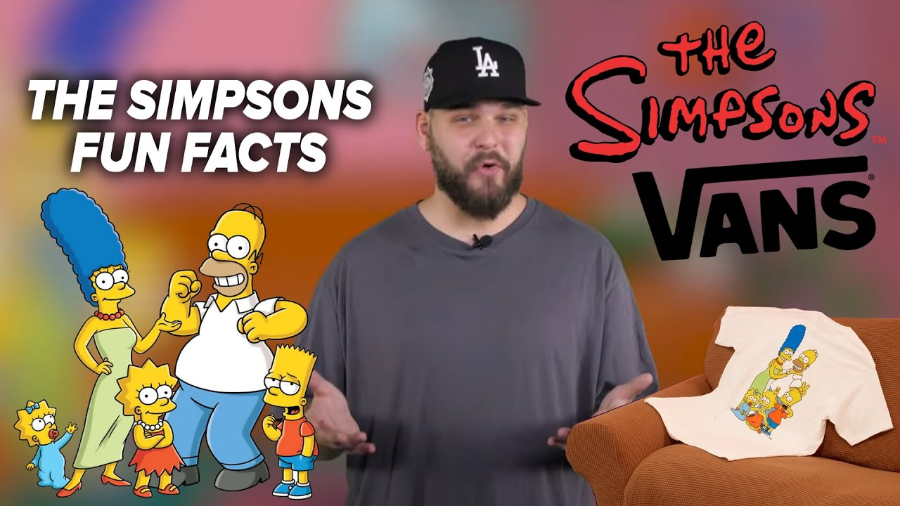 FUN FACTS O THE SIMPSONS / VANS x THE SIMPSONS / UNBOXING