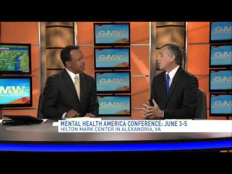 President and CEO/ of Mental Health America Paul Gionfriddo talks about issues, upcoming conference