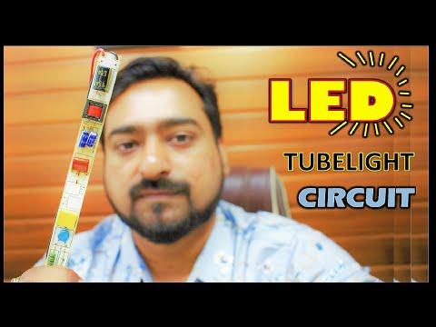LED TUBE-LIGHT CIRCUIT | circuit repairing | Electronics | Circuit Working