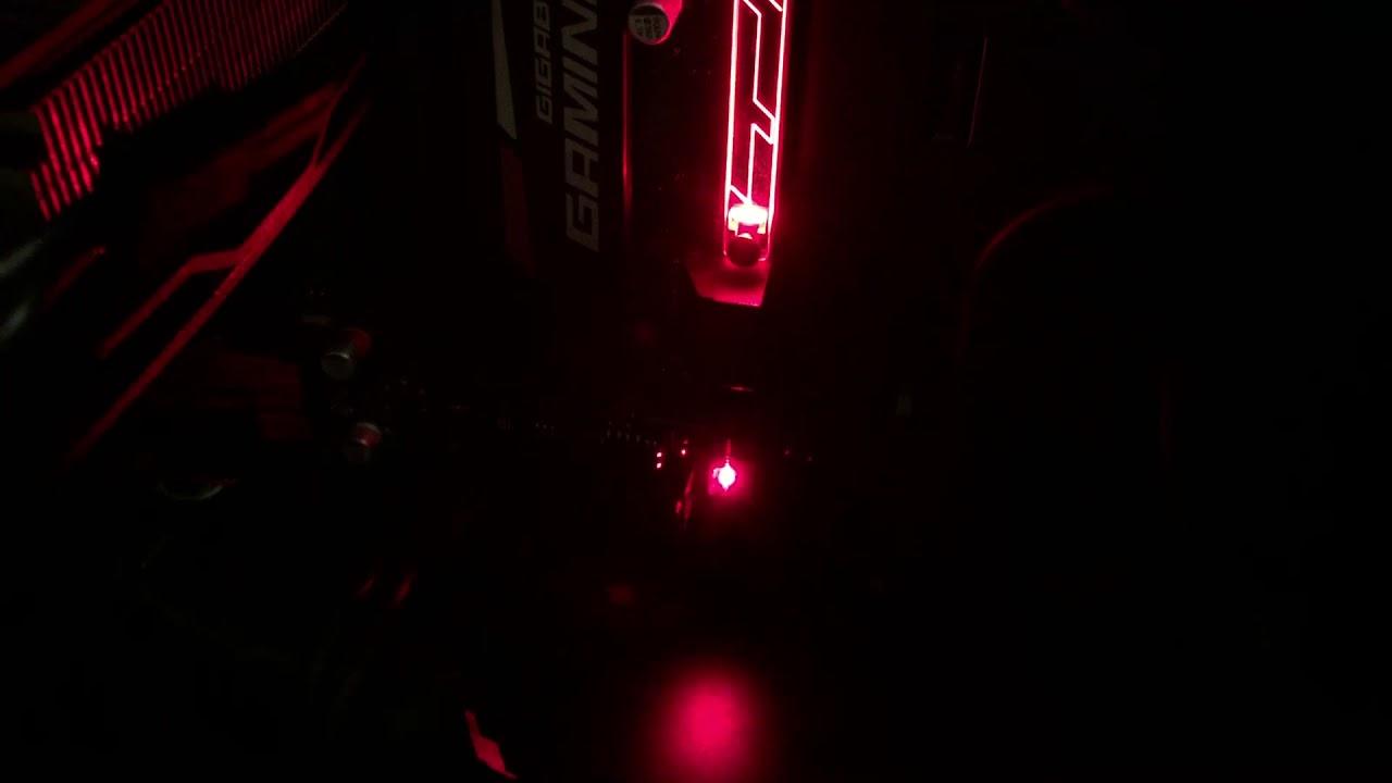CPU/VGA/DRAM/BOOT Status LEDs
