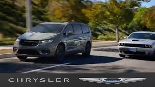 homepage tile video photo for Chrysler Pacifica   Blind Spot Monitoring