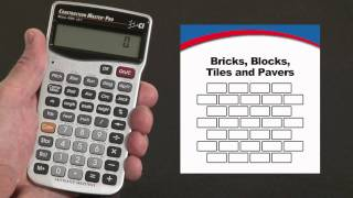How to Calculate Bricks, Blocks, Tiles and Pavers | Construction Master Pro