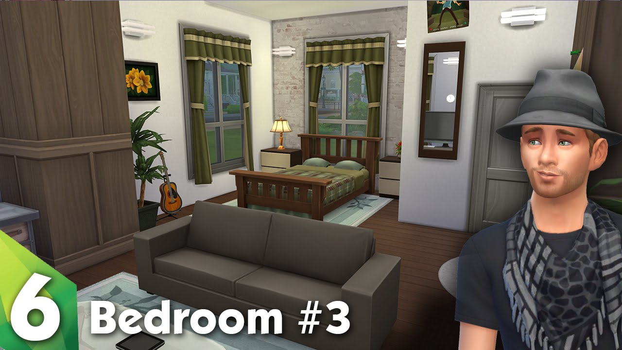The sims 4 room design beautiful bedroom youtube for Bedroom designs sims 4