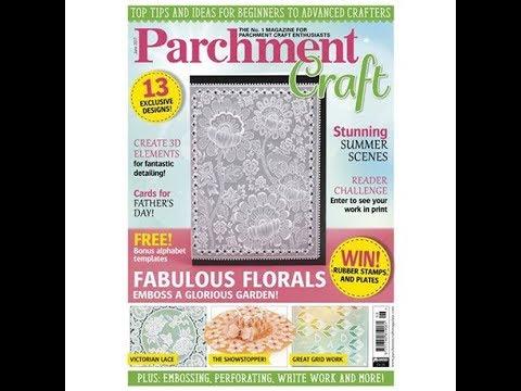 Magazine Pergamano Parchment Craft  juin 2017