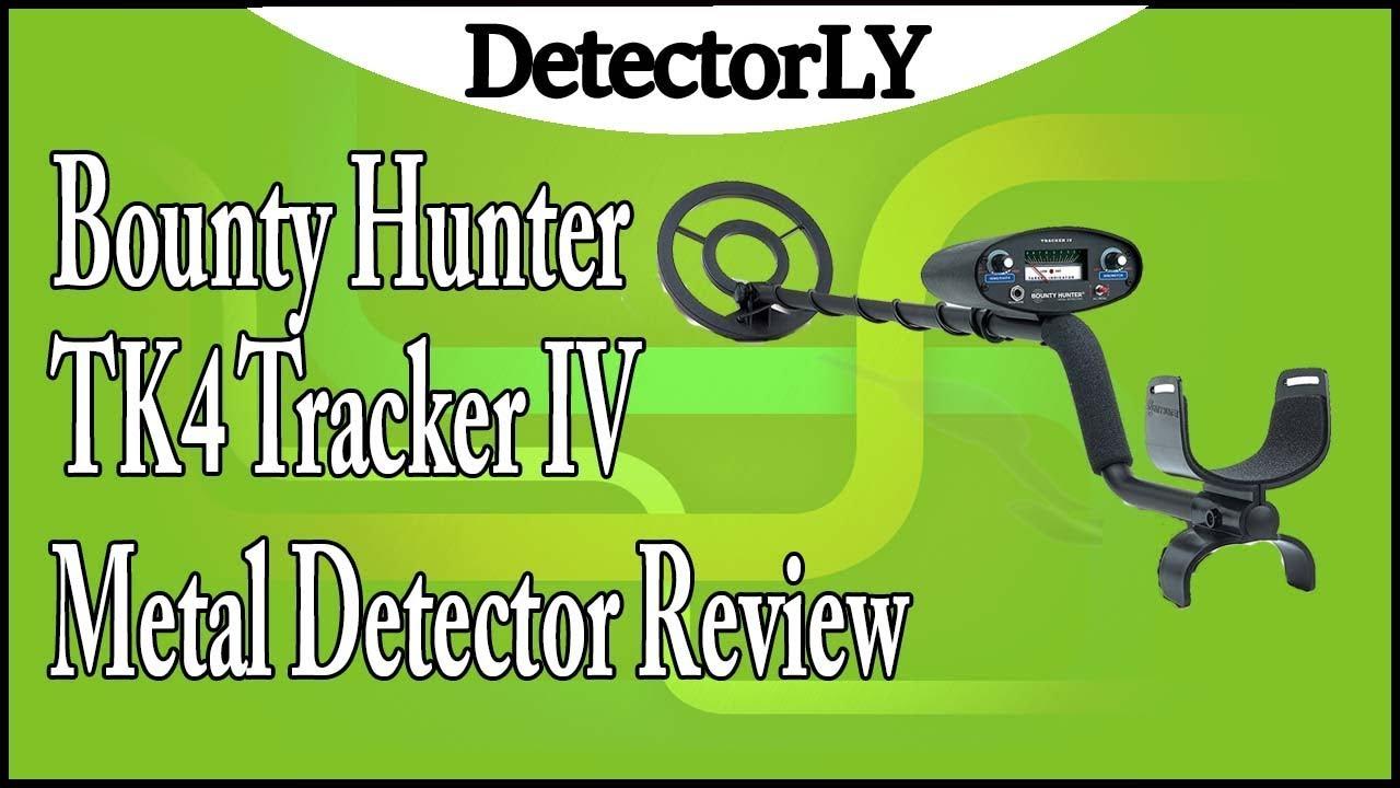 Bounty Hunter TK4 Tracker IV Metal Detector Review YouTube