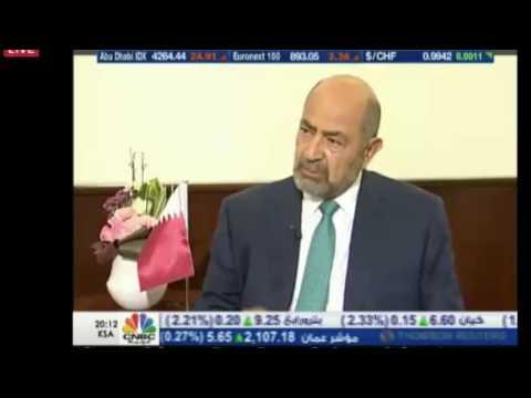 """Muhannad Kamal, Deputy CEO on CNBC Arabia during """"Eye on Qatar"""" programme"""